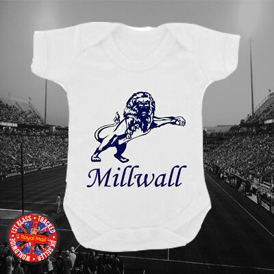 "Millwall Inspired /""Me /& My Uncle Love/"" Football Personalised Babygrow Gift"