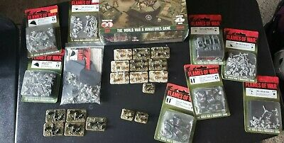 Flames of war Goum Moroccan company army lot.