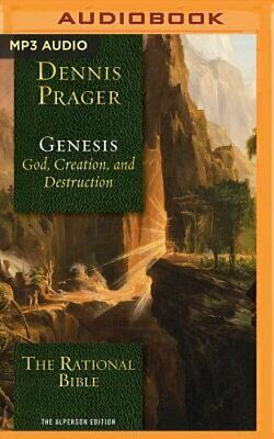 The Rational Bible: Genesis by Dennis Prager: New Audiobook