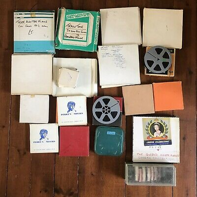 Job Lot 30 8mm Movie Films Reels Trailers Comedy Horror Super 8 Cine Sound