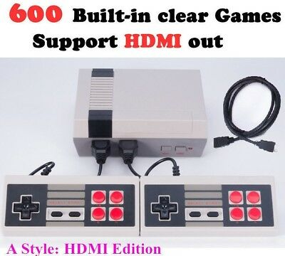 Classic Mini Game Console for NES Retro TV HDMI Gamepads Nintendo 600 games in 1