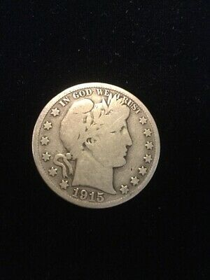 1915-S Barber Half Dollar- Over 100 Barber Half Dollars Listed In My Store!