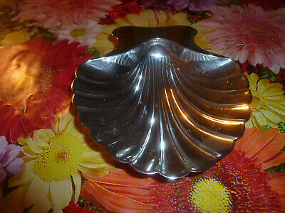 """Sterling TIFFANY & CO 5 1/4"""" Clam Shell Dish ~ no.22478 ~no mono ~Excellent Cond"""