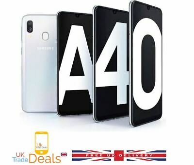 New Samsung Galaxy A40 (2019) 64GB Dual SIM 4G LTE Android Smartphone 3 Colours