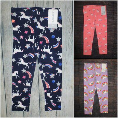 NWT Oshkosh Cat Unicorn Leggings Girls Toddler Pink Blue 2t,3t,4t,5t
