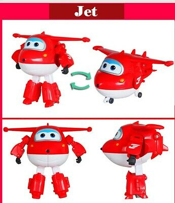 12 Style Big Super Wings Deformation Airplane Robot Action Figures