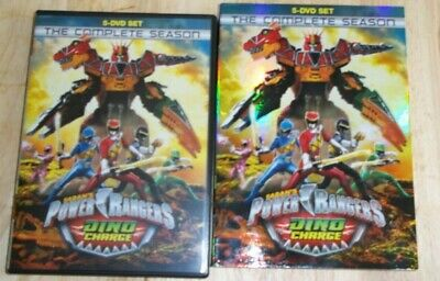 Power Rangers Dino Charge: The Complete Season [used lightly DVD] Boxed Set