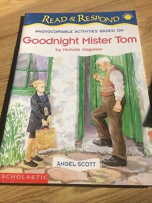 Goodnight Mister Tom by Scholastic (Paperback, 1998) Read and Respond series.