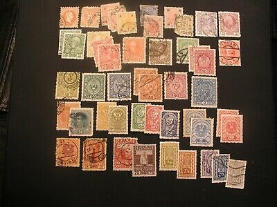 stamps worldwide collection, AUSTRIA, 109 older stamps, Cat Val $32.95