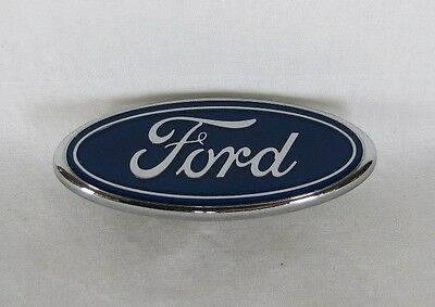 FORD MUSTANG LX GRILLE EMBLEM 88-93 OEM FRONT GRILL BLUE OVAL BADGE sign symbol