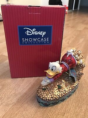 "Figurine Picsou ""Treasure Dive"" Showcase Collection, Disneyland Paris"