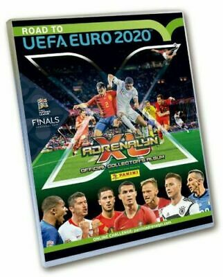 Adrenalyn Xl Road To Euro 2020 Album + Full Set Treading Cards