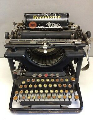 "Remington Standard Typewriter 10"" Carriage"