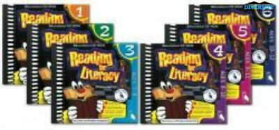 Reading for Literacy Bundle (Levels 1-6) School Edition