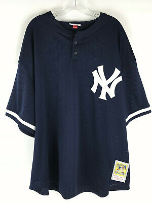 f3913b59b Mitchell & Ness New York Yankees #51 Cooperstown Collection Jersey Mens Sz 4  XL