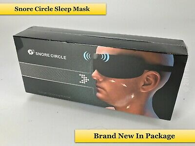 Snore Circle Smart Anti Snoring Device  Eye Mask Bluetooth Snore Stopper