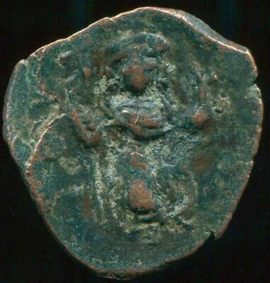 AUTHENTIC BYZANTINE EMPIRE  Æ Coin 2.71 gr / 21.60 mm BYZ1046.5