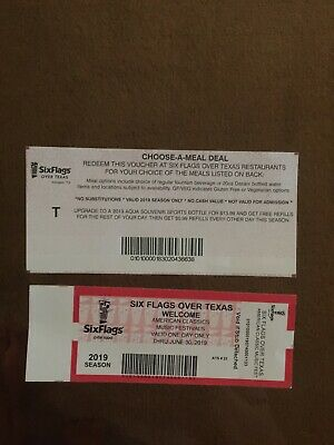 Six Flags Over Texas ticket for American Classics Music Festival