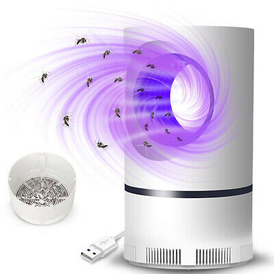 Safe Photocatalytic Mosquito Killer Lamp LED Light Non-Toxic UV Insect Traps USB