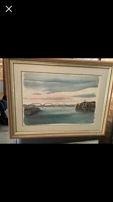 Paul N Norton Painting / K River Reflections