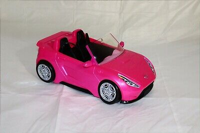 Barbie Glam Convertible Car Pink Doll Vehicle Kids Toy 2 Seater.. FREE BARBIE!