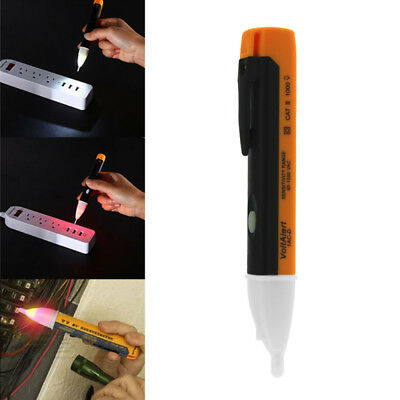AC/DC Non-Contact Electric Test Pen Voltage Digital Detector Tester 90~1000V LCD