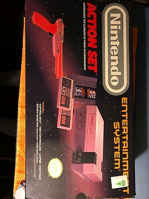 Nintendo Entertainment System Action Set Complete in Box