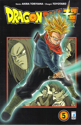 DRAGON BALL SUPER 5 limited star comics
