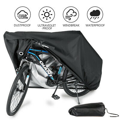 Waterproof Bicycle Bike Outdoor Cover Heavy Duty 210T UV Protection