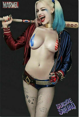 Suicide Squad Harley Quinn Movie Art Silk Poster 12x18 24x36