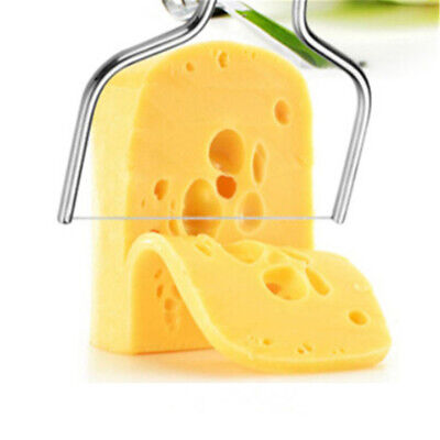 1pc Stainless Steel Cheese Wire Slicer Cheese Butter Cutter Cheese Cake Knife HV