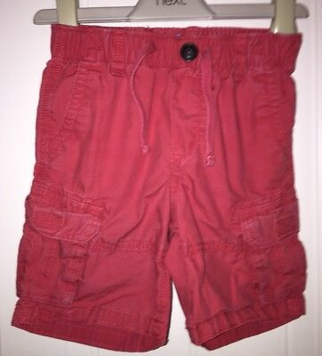 Boys Age 3 (2-3 Years) Red Gap Shorts
