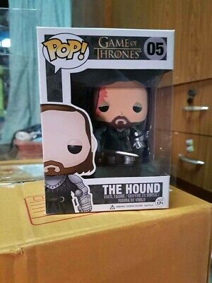 Funko Pop Game of Thrones The Hound Sandor Clegane #05 Vinyl Figure Vaulted RARE