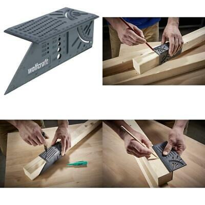 Wolfcraft 3D Mitre Square Angle Used As A Marking Gauge For Parallel Lines