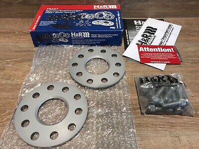 H&R 5mm hubcentric spacers 5x114 Lexus Toyota 10656014 alloys wheels 17 18 19 20