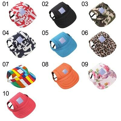 For Puppy Large Dogs Pet Dog Hat Baseball Cap Sports Windproof Travel Sun Hats