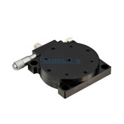 R Rotation Axis 60MM Platform Bearing Linear Stage Load 29.4N Left Micrometer