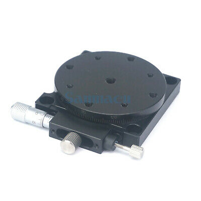 R Rotation Axis 60MM Platform Bearing Linear Stage Load 29.4N Right Micrometer