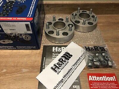 H&R 40mm hubcentric spacers Mazda MX5 5x114 alloys 16 17 18 wheels 8065671 wide
