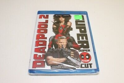 DEADPOOL 2 (Blu-ray+Digital, 2018 2-Disc Super Duper Cut) - FREE SHIP!