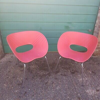 Pair Of Vitra Tom-vac Chairs