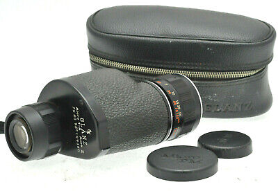 VINTAGE GLANZ MICRO T - M MARK II 7x40 MONOCULAR in CASE
