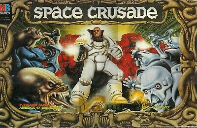 Space Crusade + Mission Dreadnought Spare parts Warhammer Multilisting [1991]
