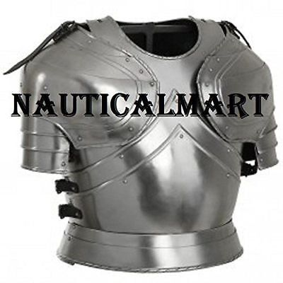 Collectibles Medieval Plate Armour Cuirass With Pauldrons Late 15th Century Item