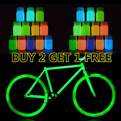 Ultra Bright UV Paint - 8 Vivid Colours - U.V Neon Rave Art Glow U-V Luminous W