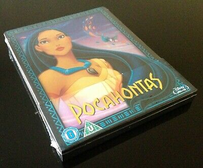 Steelbook Blu Ray Pocahontas // Disney // Edition Zavvi Exclusive // Neuf // New