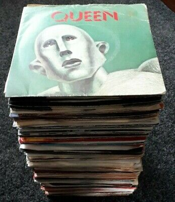JOB LOT OF 160 x HARD ROCK & PROG ROCK SINGLES *LOOK ALL LISTED*