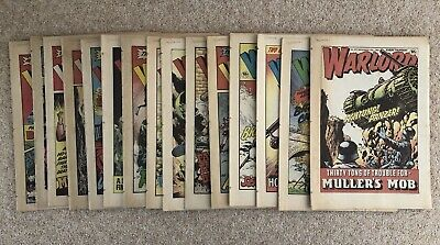 15 X Warlord Comics From 1981 And 1982