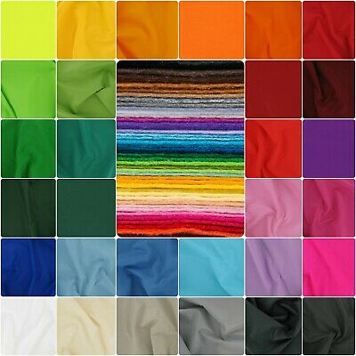 Craft Felt Fabric by the Metre, 147cm Wide, Acrylic by Dalston Mill Fabrics