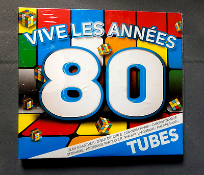 """Cd Audio Int /Vive Les Annees 80 """"Tubes"""" Compilation Lm Music 296.A134.025 Neuf"""